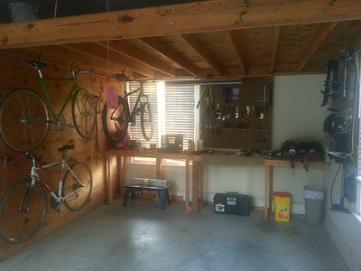 round 1 of the garage organization